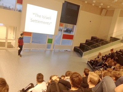 JAI Palestinian students visit to partner school in Denmark