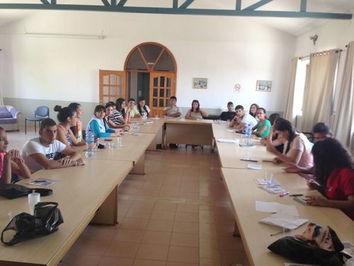 JAI ends training course for Palestinian students in preparation for student exchange