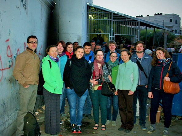 JAI organize program in Palestine for German Christian Student Group