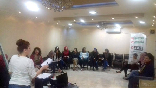 JAI trains 18 girls from Jerusalem in the Palestinian cause and Int. Law